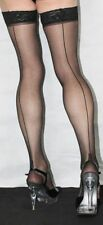 Seamed Hold Ups Hosiery & Socks for Women without