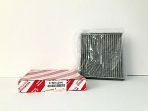 GENUINE OEM TOYOTA, LEXUS, SCION, NEW CHARCOAL CABIN AIR FILTER 87139-50100