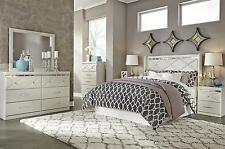B351 Dreamur Champagne 4 PCS Queen Panel Headboard Bedroom Set