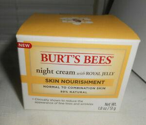 Burt's Bees Moisturizing Night Facial Cream w/ royal jelly - 1.8oz