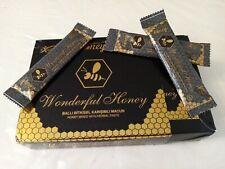 Miel Aphrodisïaque WONDERFUL HONEY produit authentique 12 sachet de 15g