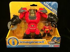 BATMAN RARE ROBIN MECHANICAL MOC IMAGINEXT GOTHAM CITY DC SUPER FRIENDS