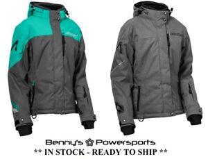 Castle X Women's Powder G2 Jacket Winter Snowmobile Snow Coat Warm Waterproof