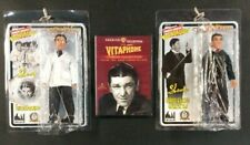 2014 THREE STOOGES SHEMP HOWARD VITAPHONE DVD MEGO ACTION FIGURE COLLECTORS LOT