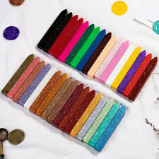27 colors Vintage Retro Sealing Wax Seal Dedicated Beeswax Stick Wax StripsAUSU