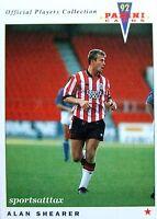 Alan Shearer Southampton - ROOKIE - Panini Official Players 1992 Near MINT