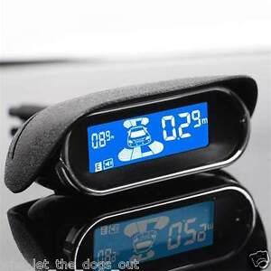 Front & Rear LCD Display Car Reverse Parking Sensor *8 Sensors Buzzer Alarm Kit*