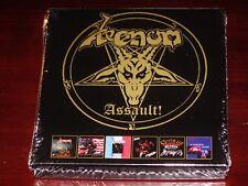 Venom: Assault! 6 CD Box Set - Canadian, American, French, Japanese, German NEW