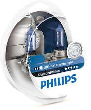 Philips H4 Diamond Vision Headlight Bulbs up to 5000K 12V60/55W 12342DVS2 2 Pack