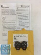 2007-14 GM Cars & Trucks Remote Keyless Entry Remote Start Kit GM 19172580