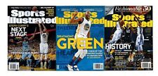 Set of 3 Sports Illustrated GS Warriors Steph Curry Draymond Green No Label