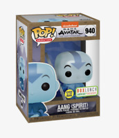 FUNKO POP! AANG THE LAST AIRBENDER #940 GLOW BOXLUNCH EARTH DAY EXCLUSIVE!!