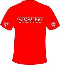 Ducati Monster Motocicleta Estilo Impreso T Shirt en 6 tamaños