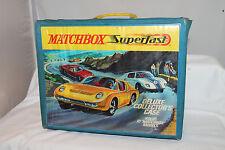 MATCHBOX SUPERFAST 72-CAR COLLECTOR CASE, ORIGINAL, LOT B