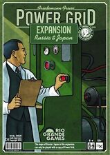 Power Grid Board Game: Russia & Japan Expansion (New)