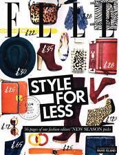 ELLE: STYLE FOR LESS A/W 2011 HANNELI MUSTAPARTA; SUSANNA LAU; SUSIE WONG @NEW@
