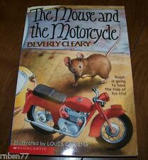 The Mouse and the Motorcyle by Beverly Cleary Paperback 1998
