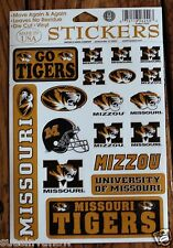 Set Stickers University of Missouri Tigers Football Decal College NCAA Crafts