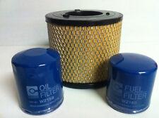 HOLDEN RODEO 3.0L TURBO DIESEL AIR OIL FUEL FILTER KIT 4JH1 03/2003->1/2007