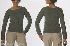 suéter de mujer KANABEACH BIOLOGIK espejo Talla 38 NUEVO CON ETIQUETA valor