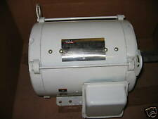 NEW LEESON LM20667 1HP 1800RPM PHASE 3 ELECTRIC MOTOR