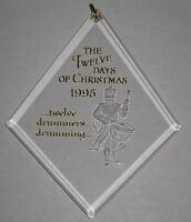 Hallmark Keepsake Ornament Twelve Days of Christmas Twelve Drummers Drumming