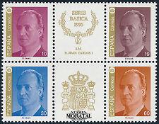 1995 - España Ed 3378A/3381A Bloque  Yv 2968/2969  Feuille  ** MNH Nuevo sin Cha