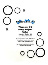 Tippmann US Army Project Salvo Paintball Marker O-ring Oring Kit x 2 rebuilds