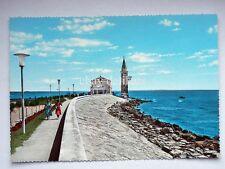 CAORLE Madonnina dell'Angelo passeggiata Venezia vecchia cartolina