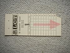 Early Leeds City Transport Multi Journey Ticket. No value 10 Journey Unused.