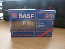 BASF FERRO SUPER I 90 audiokassette cassette audio tape sealed