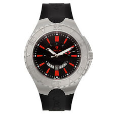 Croton Men's CA301287BSRD Super C Rotating Bezel Red Markers Black 48mm Watch