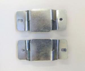 Metal Corner Furniture Sofa Beds Interlocking Connecting Clips Brackets (1 PAIR)