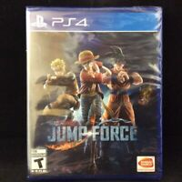 Jump Force: Standard Edition (Sony PlayStation 4 / PS4) BRAND NEW / Region Free
