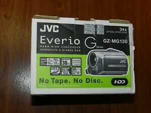 New Open Box- JVC GZ-MG130 GZ-MG130U 30GB Digital Video Camcorder - 046838028625
