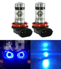 2X H11 H8 H9 H16 8000K 100W Ice Blue CREE LED Headlight Bulbs Kit Fog Light CA