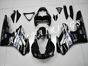 Black Castrol ABS Injection Mold Bodywork Fairing Kit for Daytona 675 2009-2012