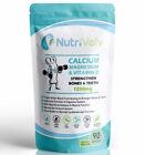 Calcium Magnesium & Vitamin D - Bones Teeth Osteoporosis Joints High Strength
