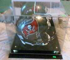 Mike Alstott Signed Tampa Bay Buccaneers Riddell Authentic NFL Helmet SB Champs