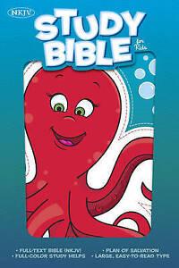 Bible for Kids New King James KJV Octopus Full colour Study