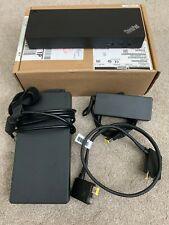 Lenovo 40AN Thunderbolt 3 230W Workstation Dock for ThinkPad - Black