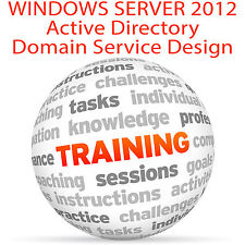 Windows Server 2012 ACTIVE DIRECTORY Domain Service - Video Training Tutorial