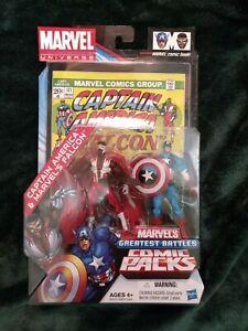 Marvel Universe Greatest Battles Captain America & Marvel's Falcon - NIB!