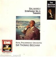 Balakirev : Symphonie (Symphonie) No.1, Tamara / Thomas Beecham - CD Emi