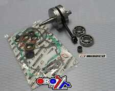 Suzuki RM250 RM 250 2003 2004 New Wiseco Crankshaft - Bottom End Rebuild Kit