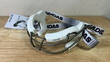Adidas Womens Oqular Eqt Lacrosse Goggles White New Titanium Cage Hockey Bs4311