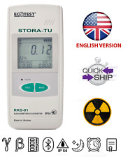 NEW STORA-TU Radiation Radiometer-Dosimeter RKS-01 Geiger Counter with Bluetooth