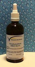 DMSO  99,9% Reinheit 100 ml im hydrolytischem Braunglas mit  Glaspipette