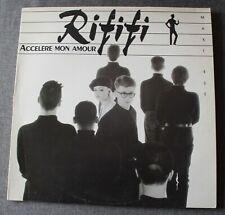 Rififi, accelere mon amour, Maxi Vinyl