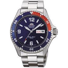 Orologio Orient da Uomo Automatico Mako In Acciaio Argento Analogico Watch Polso